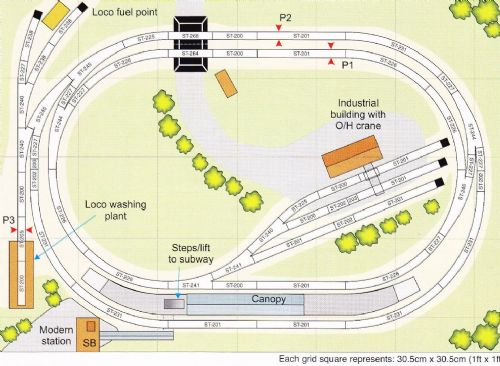 Peco Setrack OO Plan 16 A Twin-Track Main Line In The Traditional Style (1)